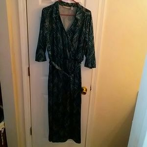 Very nice belted maxi dress